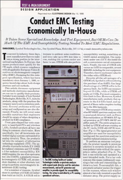 Electronic Design Article